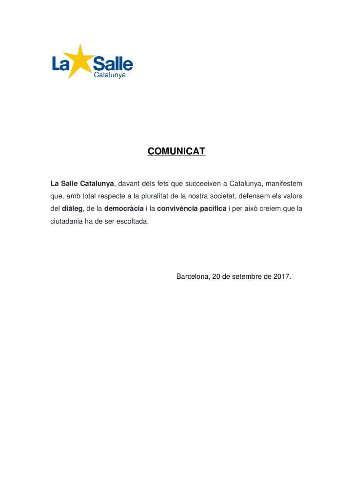 Comunicat La Salle Catalunya 20_S-001